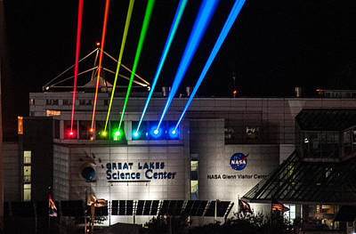Great Lakes Science Center Art Print