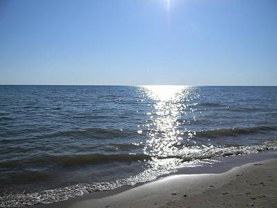 Photograph - Great Lakes Sun by Mark Minier