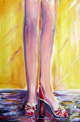 Painting - Great Legs by Bernadette Krupa