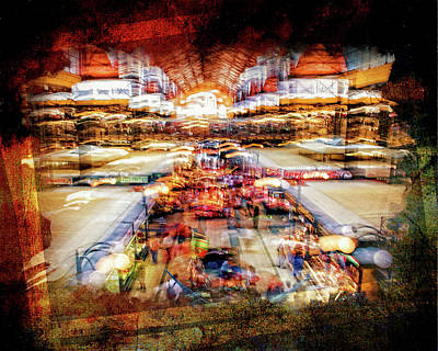 Photograph - Great Market Hall Budapest by Gizella Nyquist