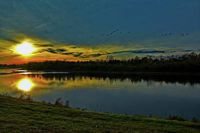 Photograph - Great Miami River  by Randall Branham