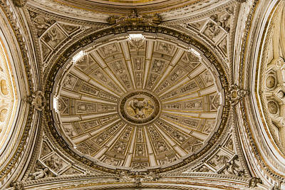 Great Mosque Ceiling - Cordoba Spain Art Print