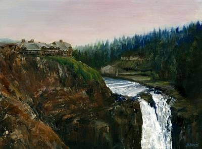 Cliff Lee Painting - Great Northern by Delaney Davis