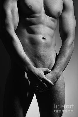 Photograph - Great Nude Male Body by William Langeveld