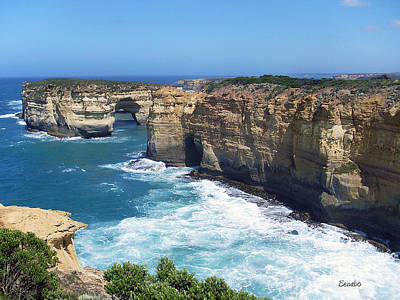 Photograph - Great Ocean Road by Eena Bo