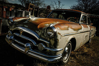 Art Print featuring the photograph Great Old Packard by Marilyn Hunt