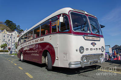 Photograph - Great Orme Bus by Steev Stamford