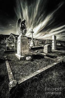 Photograph - Great Orme Graveyard by Adrian Evans