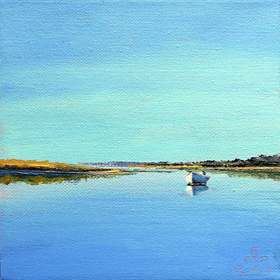 Painting - Great Pond, Edgartown by Trina Teele
