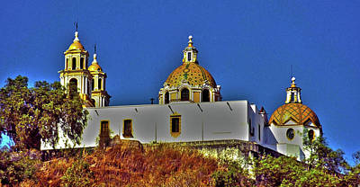 Photograph - Great Pyramid Of Cholula by Juergen Weiss