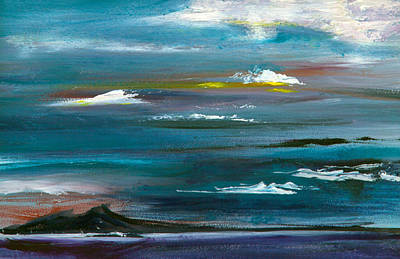 Painting - Great Salt Lake by Nila Jane Autry