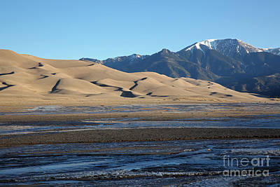 Photograph - Great Sand Dunes  by Betty Morgan