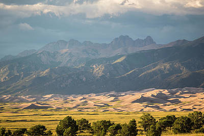 Photograph - Great Sand Dunes Colorado 2 by Whit Richardson