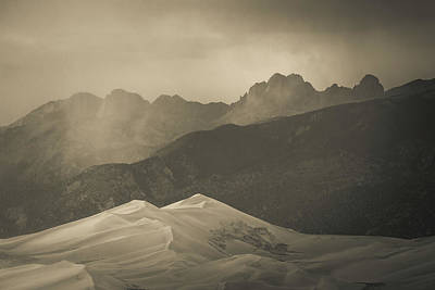 Photograph - Great Sand Dunes Colorado 5 by Whit Richardson