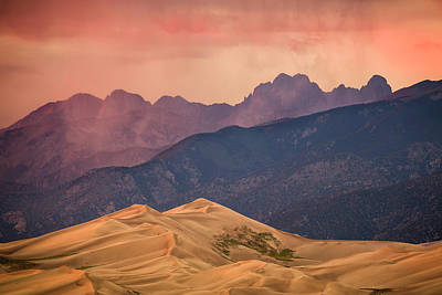 Photograph - Great Sand Dunes Colorado by Whit Richardson