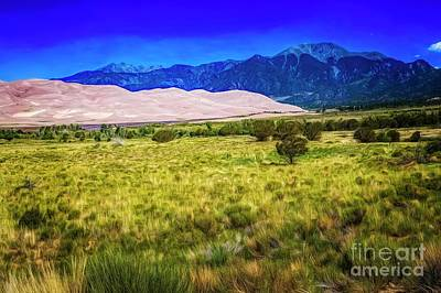Photograph - Great Sand Dunes by Jon Burch Photography