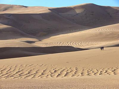 Photograph - Great Sand Dunes National Park 1 by Diana Douglass