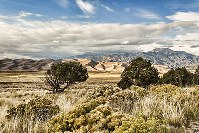 Photograph - Great Sand Dunes National Park And Preserve by Bill Kesler