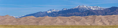 Photograph - Great Sand Dunes National Park And Preserve Panorama by James BO Insogna