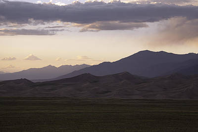 Photograph - Great Sand Dunes National Park At Dusk by Scott Sanders