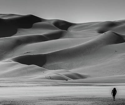 Great Sand Dunes National Park Art Print