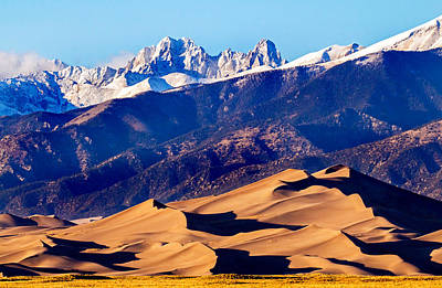Photograph - Great Sand Dunes National Park by Nicholas Blackwell
