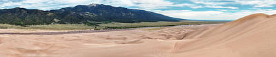 Great Sand Dunes Photograph - Great Sand Dunes National Park Panorama by Shane Linke
