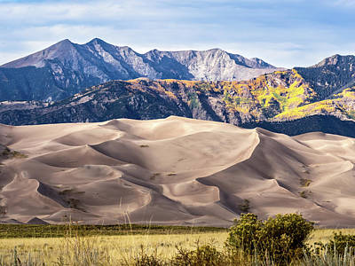 Photograph - Great Sand Dunes Of Southern Colorado by Nadja Rider