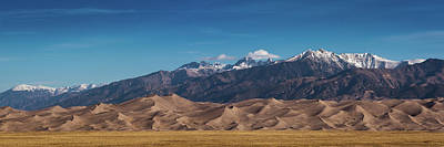 Photograph - Great Sand Dunes Panorama 3to1 by Stephen Holst