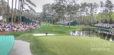 Masters Golf Photograph - Great Sand Play by David Bearden