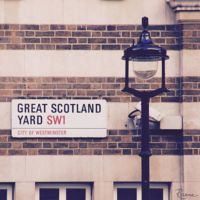 Photograph - Great Scotland Yard by Rasma Bertz