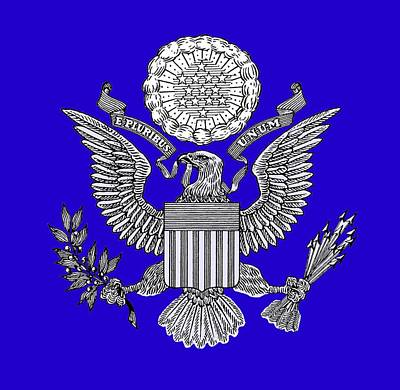 Great Seal Of The United States 2 Art Print by Otis Porritt