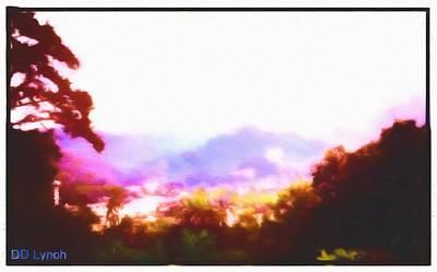 Great Smokey Mountain Painting Art Print by Debra Lynch