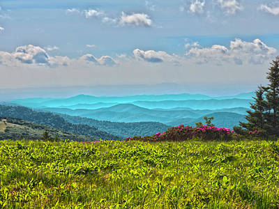 Photograph - Great Smoky Mountain Afternoon by Kevin Senter