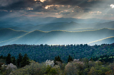 Great Smoky Mountain Highlighter Art Print