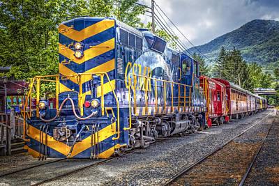 Great Smoky Mountain Railroad Art Print