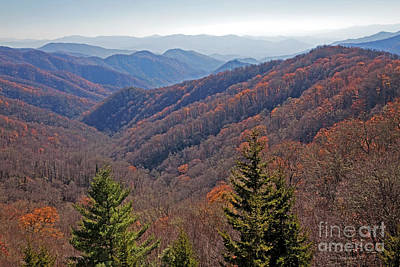 Photograph - Great Smoky Mountains by John Stephens