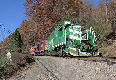 Photograph - Great Smoky Mountains Railroad #777 0 by Joseph C Hinson Photography