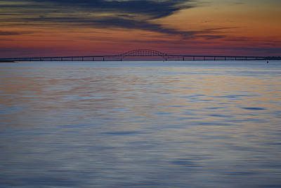 Photograph - Great South Bay And Robert Moses Causeway by Rick Berk