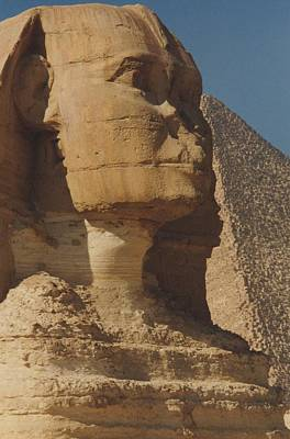 Travel Pics Royalty Free Images - Great Sphinx of Giza Royalty-Free Image by Travel Pics