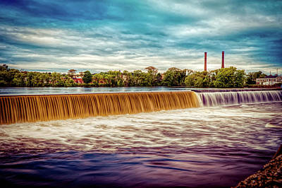 Photograph - Great Stone Dam by Lilia D