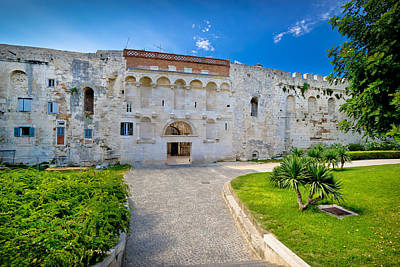 Beers On Tap - Great stone wall of old Split historic centre by Brch Photography