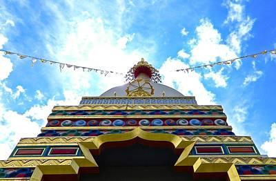 Mark Wagner Wall Art - Photograph - Great Stupa - Shambhala Mountain Center Co by Mark Wagner