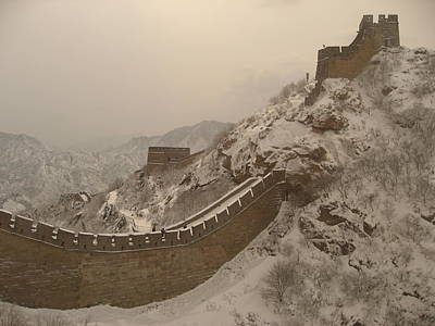 Great Wall Art Print by James Lukashenko