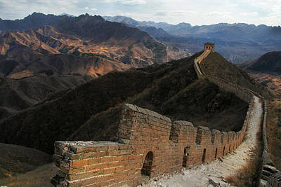 Photograph - Great Wall Of China by Jed Holtzman