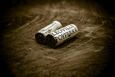 Photograph - Great Wines Of Bordeaux - Chateau Leoville Poyferre by Frank Tschakert