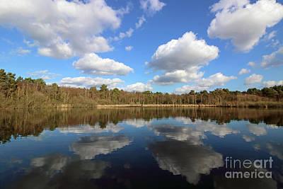 Photograph - Greatbottom Flash On Basingstoke Canal Surrey by Julia Gavin