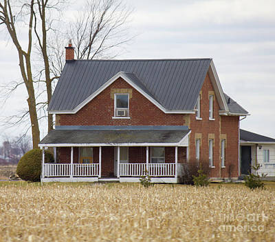 Photograph - Greater Ottawa Rural House by Donna L Munro