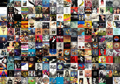 Musicians Royalty-Free and Rights-Managed Images - Greatest Album Covers of All Time by Zapista Zapista
