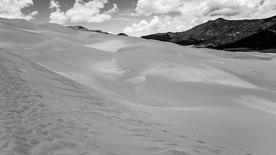 Photograph - Great_sand_dunes_np04bw by Kent Nancollas